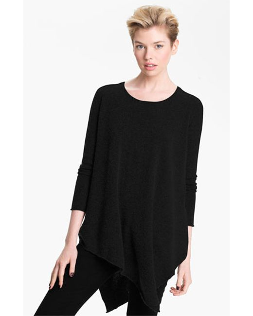 Joie | Black 'tambrel' Asymmetrical Sweater Tunic | Lyst