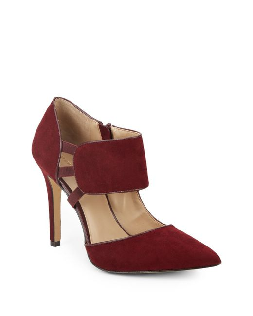 Saks Fifth Avenue | Red Cypress Pumps | Lyst