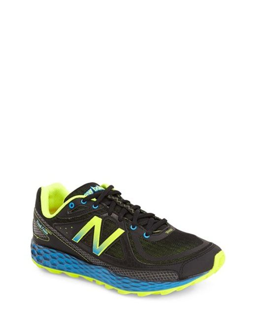 New Balance | Black 'fresh Foam Hierro' Trail Running Shoe for Men | Lyst