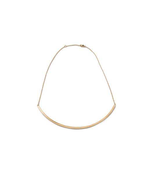 Jennifer Zeuner | Metallic Choker Chain Necklace | Lyst
