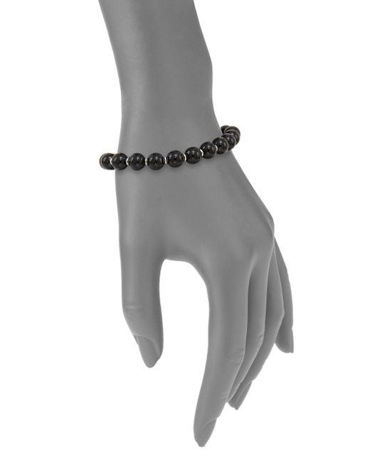 Gucci   Metallic Boule Britt Beaded Bracelet   Lyst