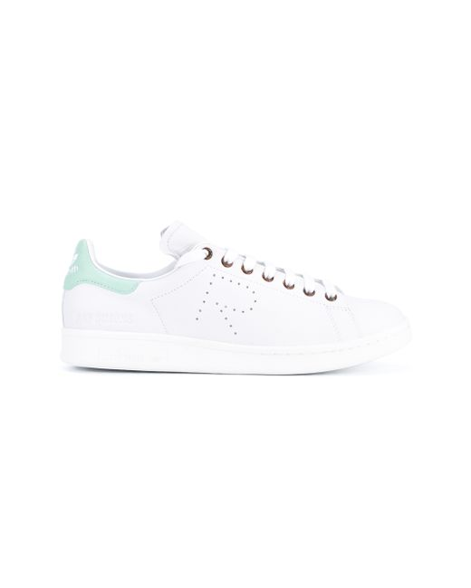 Adidas By Raf Simons | Green Stan Smith Leather Sneakers for Men | Lyst