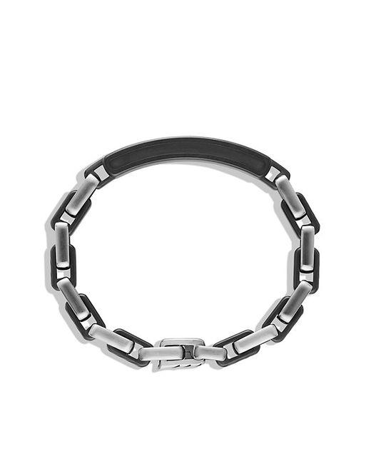 David Yurman | Black Modern Cable Id Bracelet for Men | Lyst