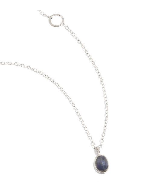 Melissa Joy Manning | Purple Blue Sapphire Necklace | Lyst