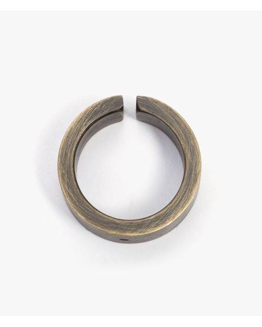 Marmol Radziner | Metallic Heavyweight Wide Cut Ring | Lyst