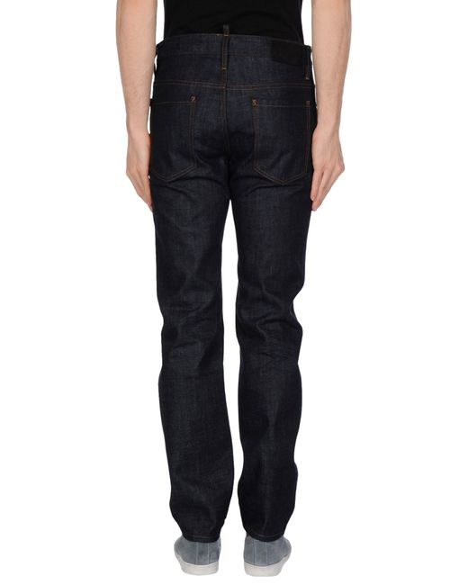 DSquared² | Blue Denim Trousers for Men | Lyst