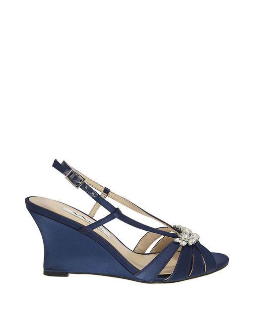 Nina Navy Blue Shoes
