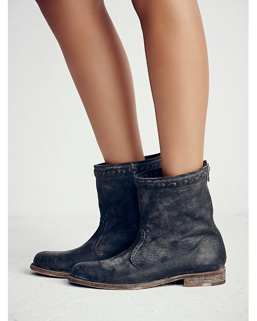 Free People | Gray Spring Valley Ankle Boot | Lyst