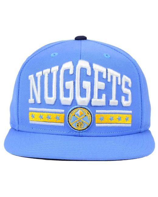 Sports Licensed Division Denver Nuggets Stars Snapback Cap