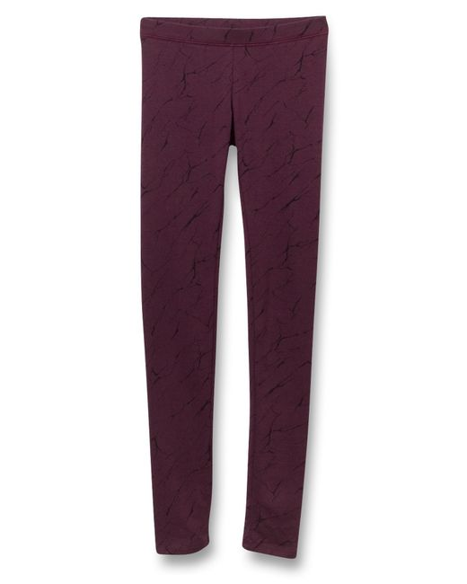 Alternative Apparel | Purple Printed Spandex Go-to Leggings | Lyst