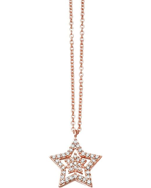 Astley Clarke | Pink Super Star 14ct Rose-gold And Diamond Pendant | Lyst