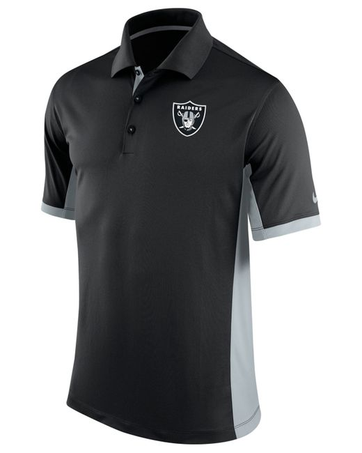 Nike Men 39 S Oakland Raiders Team Issue Polo In Black For