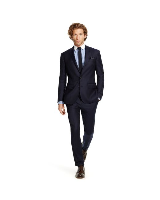 Polo Ralph Lauren | Blue Polo Wool Twill Suit for Men | Lyst