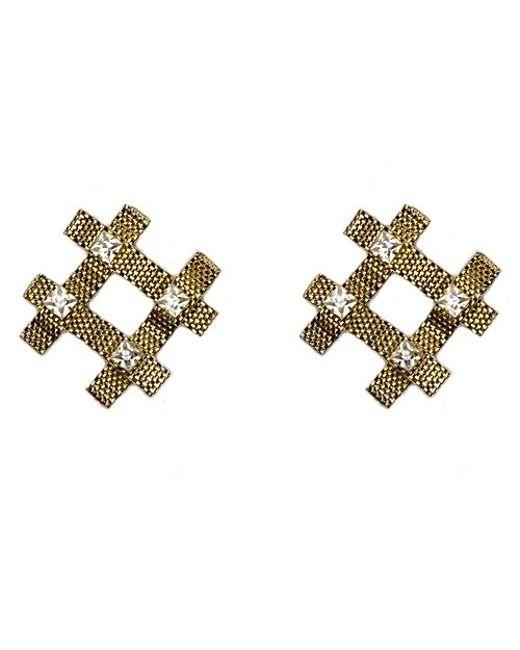 Nicole Romano | Metallic Fina Earrings | Lyst