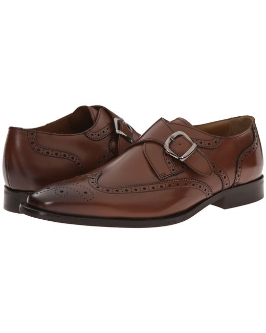 Florsheim | Brown Sabato Wingtip Monk for Men | Lyst