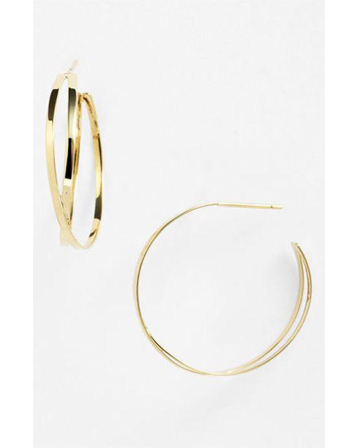 Lana Jewelry | Yellow 'white Night' Hoop Earrings | Lyst