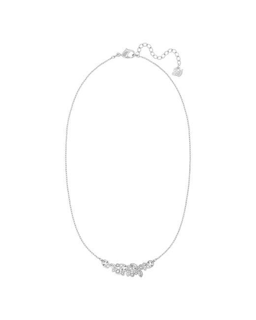 Swarovski | Metallic Diapason Necklace | Lyst