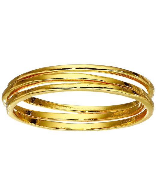 Gorjana   Metallic G Ring Set - Set Of 3   Lyst