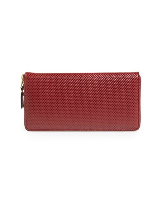 Comme des Garçons | Red 'luxury Group' Continental Long Wallet for Men | Lyst