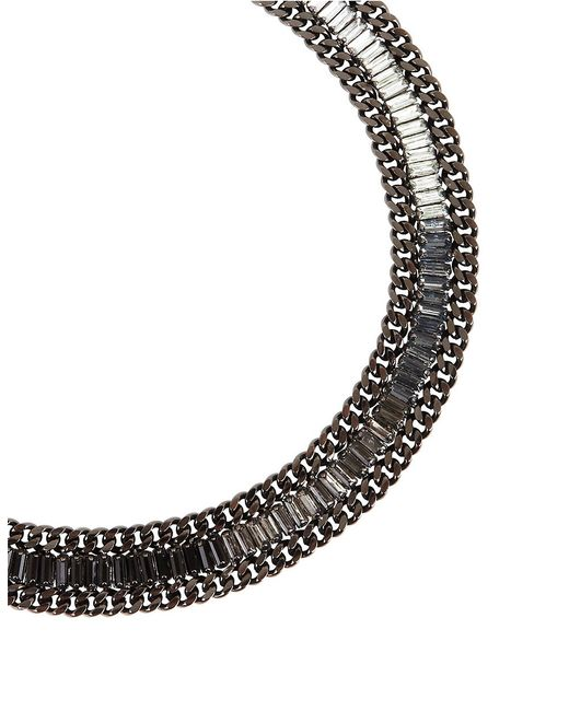 BCBGMAXAZRIA | Multicolor Corded Stone Necklace | Lyst