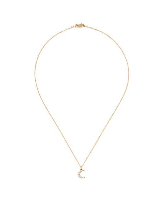 Khai Khai   Metallic 'la Luna' Diamond Pendant Necklace   Lyst