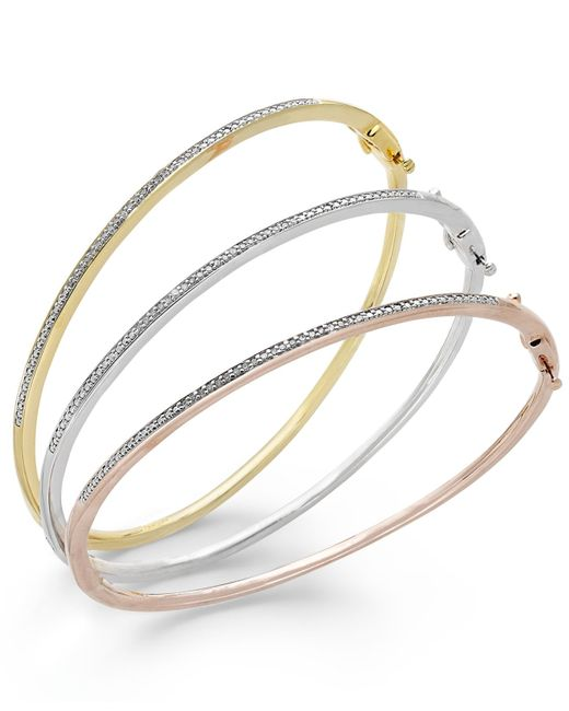 Macy's | Pink Rope Chain Bracelet In 14k Gold (2-1/2mm) | Lyst