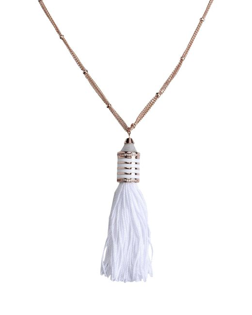 Eddie Borgo | White Necklace | Lyst