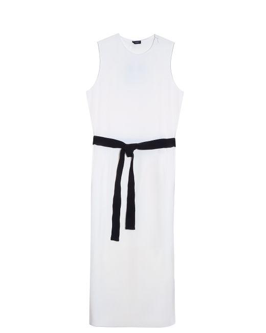 JOSEPH   Pink Sleeveless Belted Dress   Lyst