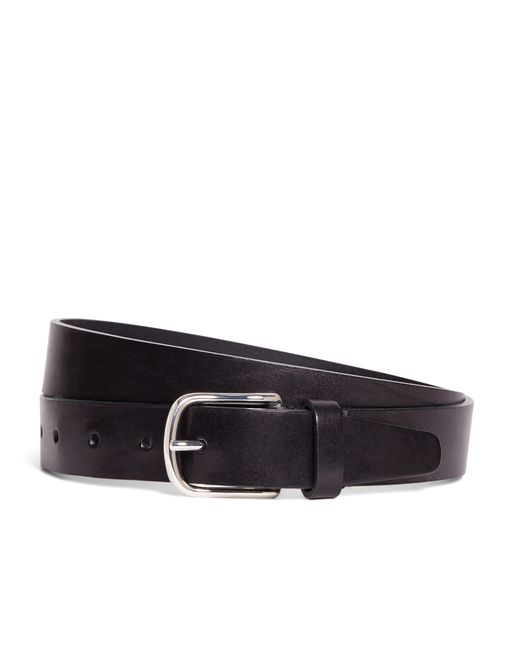 Brooks Brothers | Black Leather Belt for Men | Lyst