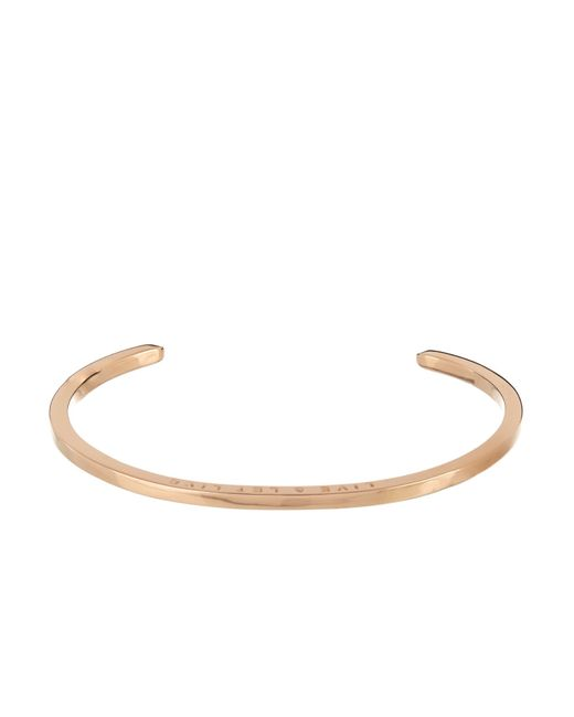 Zadeh | Metallic Malo Rose-Gold Cuff for Men | Lyst