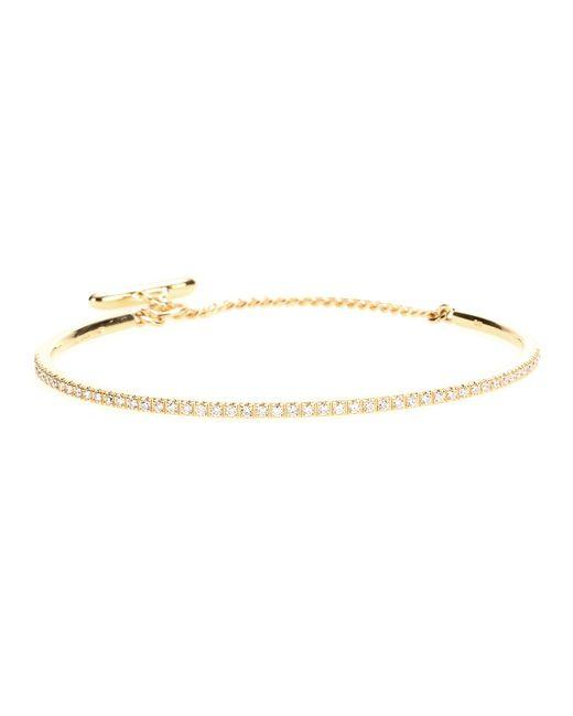 Roberto Marroni | 18kt Yellow Gold Bracelet With White Diamonds | Lyst