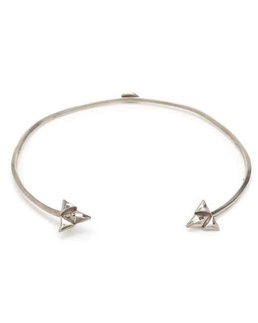 Bing Bang | Metallic Double Trident Collar | Lyst