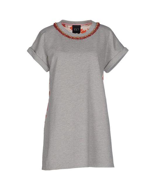 Twin Set   Gray Sweatshirt   Lyst