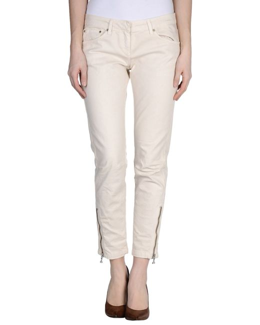 Dondup | White Denim Pants | Lyst