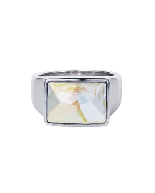 Aurora | Metallic Cocktail Ring | Lyst