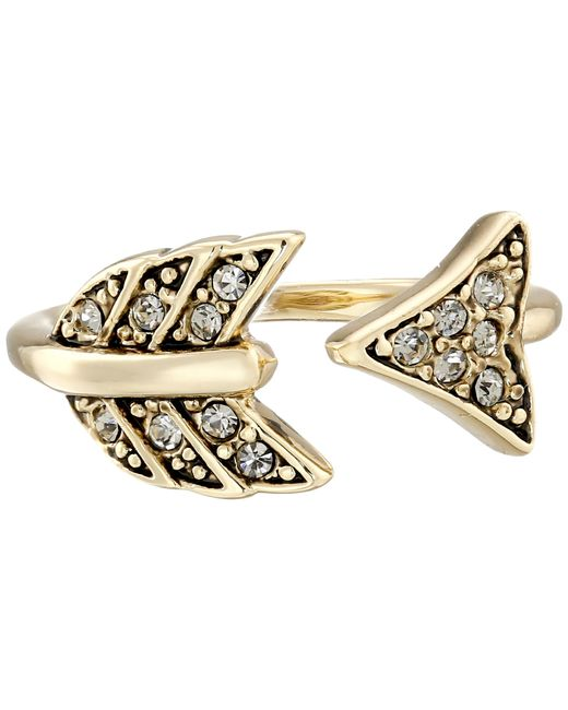 House of Harlow 1960 | Metallic Arrow Affair Midi Ring | Lyst