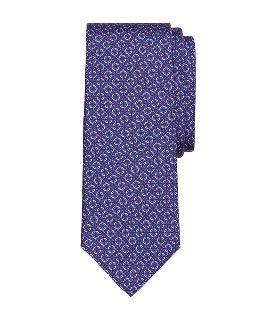 Brooks Brothers | Purple Circle Link Print Tie for Men | Lyst
