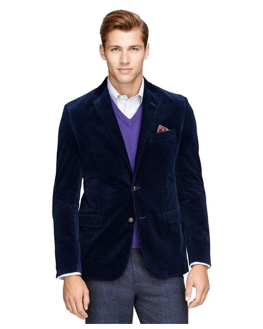Brooks Brothers | Blue Fitzgerald Fit Corduroy Sport Coat for Men | Lyst