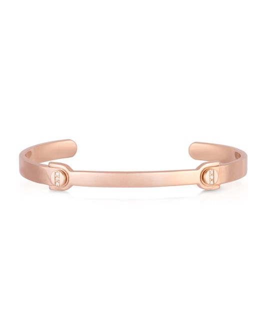 Carbon & Hyde | Pink Screwed Bangle | Lyst