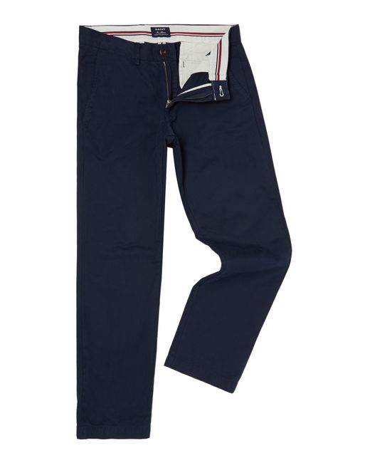 GANT | Blue Haven Regular Fit Chinos for Men | Lyst