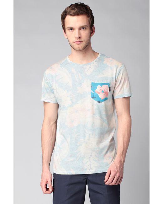 Volcom | Blue T-shirt for Men | Lyst