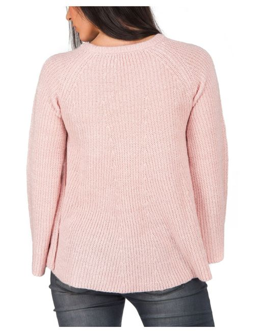 Jane Norman | Pink Gem Trapeze Jumper | Lyst