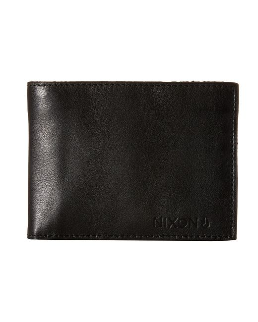 Nixon | Black Legacy Bi-Fold Wallet for Men | Lyst