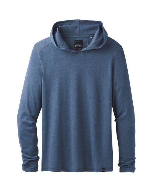 Prana - Blue Long-sleeve Hoodie for Men - Lyst