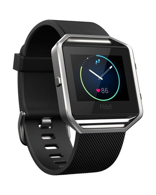 Fitbit - Black Blaze Watch + Hr Monitor for Men - Lyst
