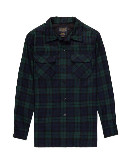 Pendleton - Black Fitted Board Shirt for Men - Lyst