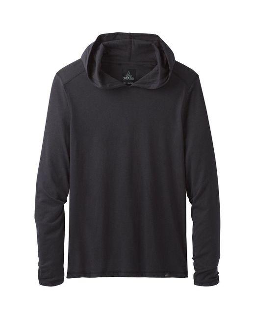 Prana - Black Long-sleeve Hoodie for Men - Lyst
