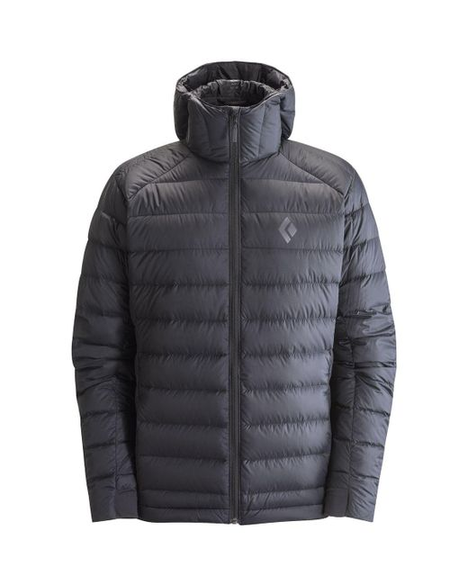 Black Diamond - Black Cold Forge Hooded Down Jacket for Men - Lyst