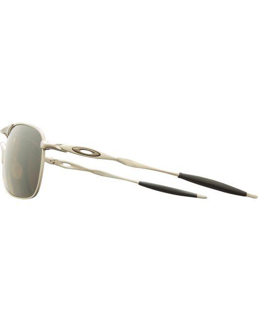 8e24104051 ... Oakley - Gray Titanium Crosshair Sunglasses - Polarized for Men - Lyst  ...