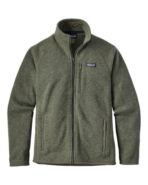 Patagonia - Green Better Sweater Fleece Jacket for Men - Lyst